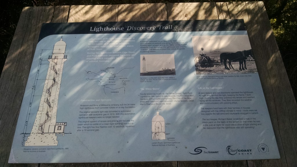 The story of the lighthouse trail